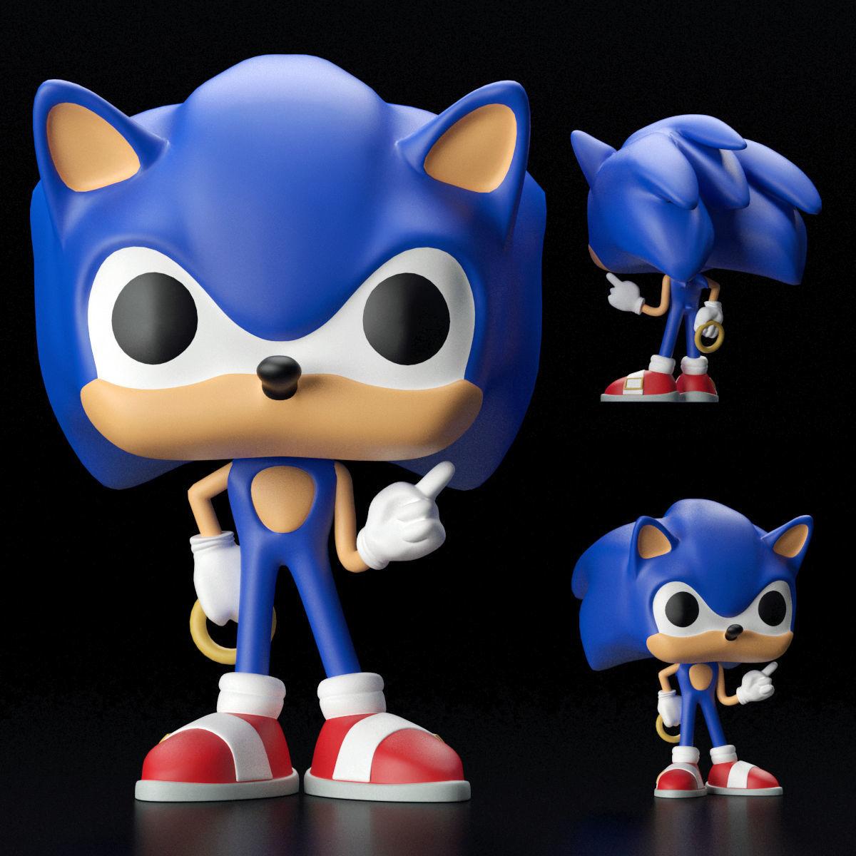 Funko Pop Figure 3d Cgtrader
