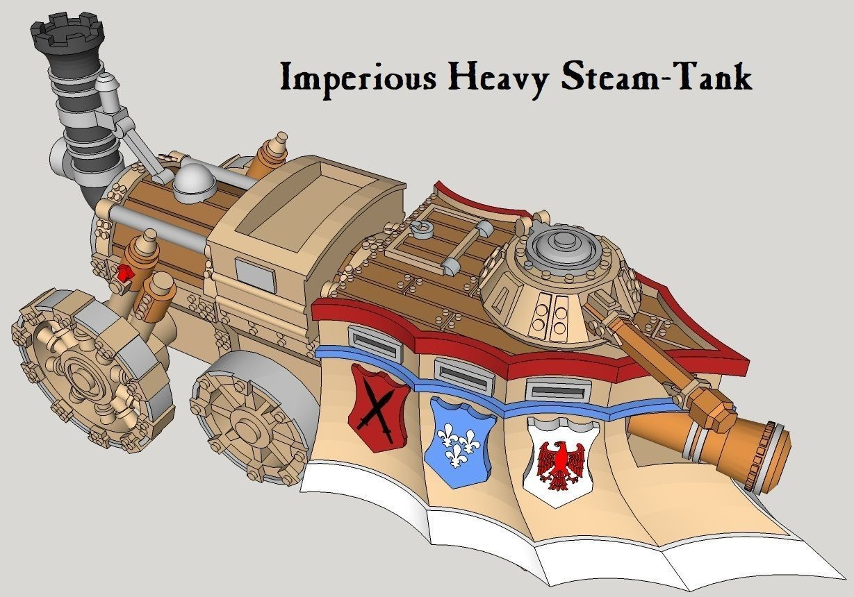 10mm Imperious Heavy Steam-Tank