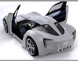 Chevrolet Corvette C7 Stingray Concept 3D