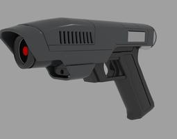 3D Medium Laser Gun