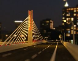 Pasupati Bridge Indonesian 3D model