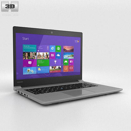 Toshiba portege z30 3d model max obj 3ds fbx c4d lwo lw for Porte 3ds max