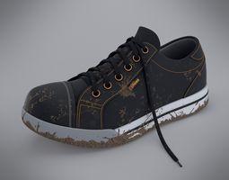 dirty shoe 3d