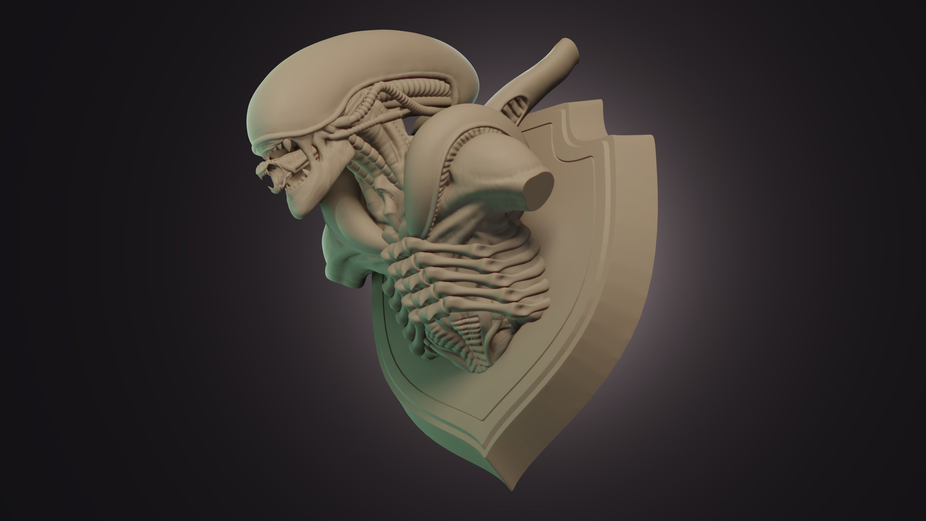Xenomorph Trophy