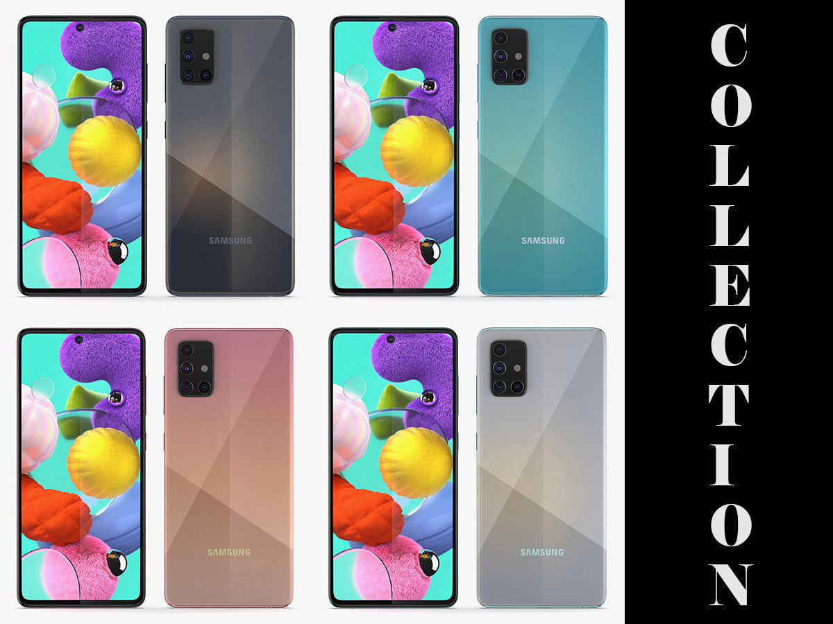 Samsung Galaxy A51 All Colors