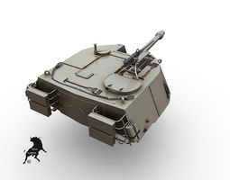 3d model m-108 turret