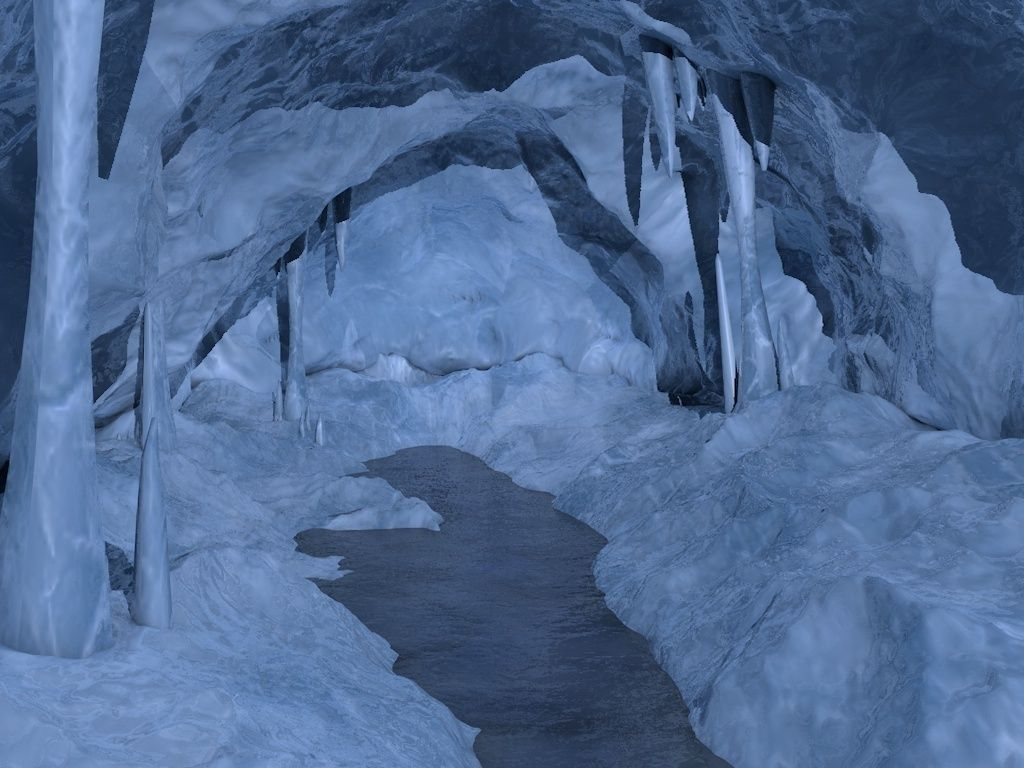 3D asset Ice cave | CGTrader