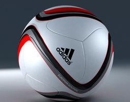 3d Model Official Adidas Beau Jeu Euro 2016 Qualification Ball 3D Model