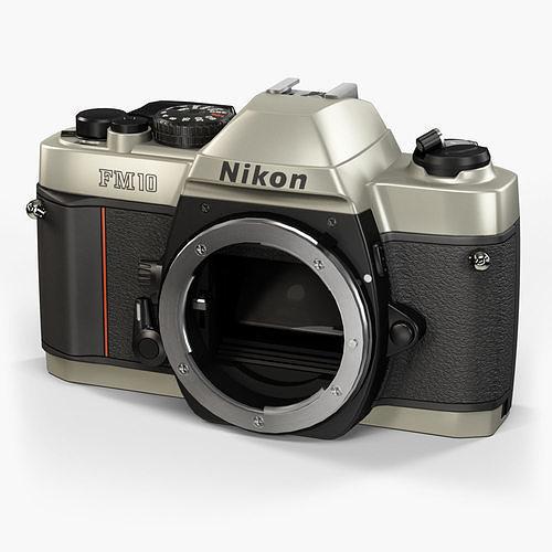 Nikon FM10 35mm film SLR camera