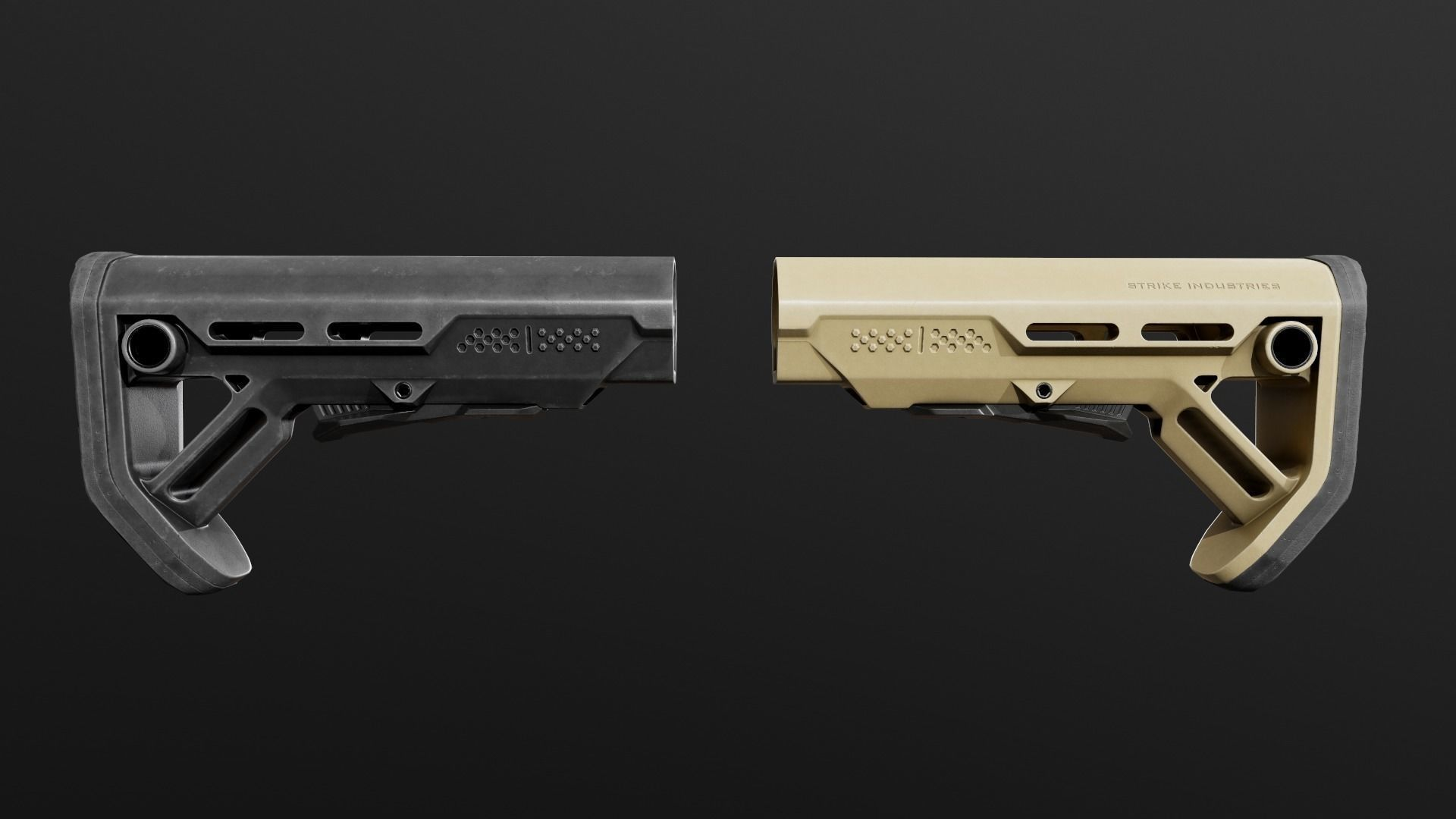 Strike Industries Viper Mod1 AR15 Collapsible Buttstock