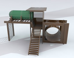 PlayGroundSet 1 Max 2011 3D model