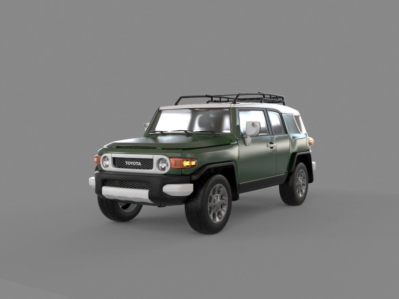 Toyota FJ 2010 3D Model .max - CGTrader.com