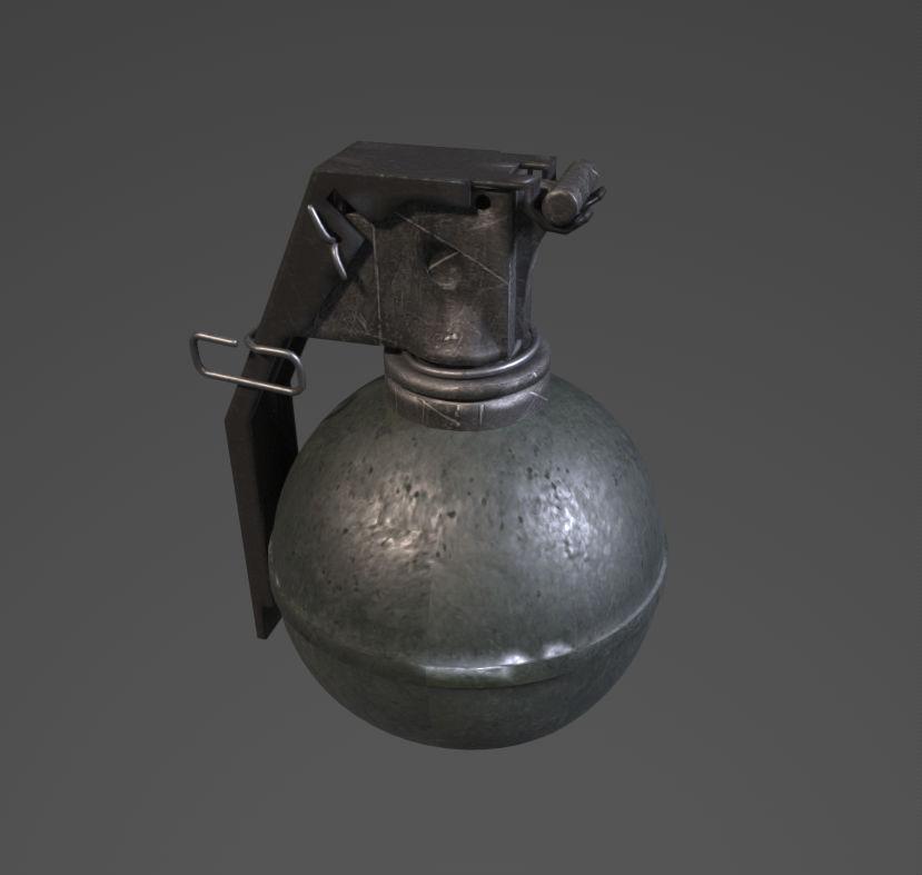 m69 grenade | 3D model