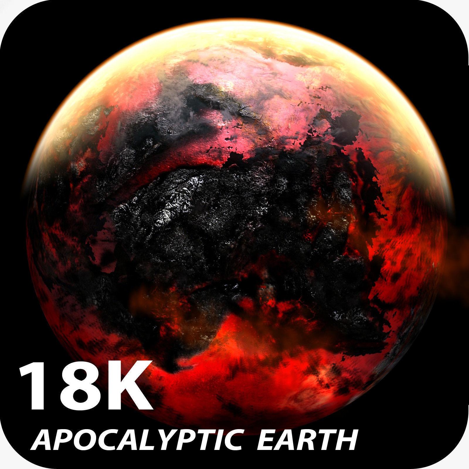 18K Apocalyptic Earth