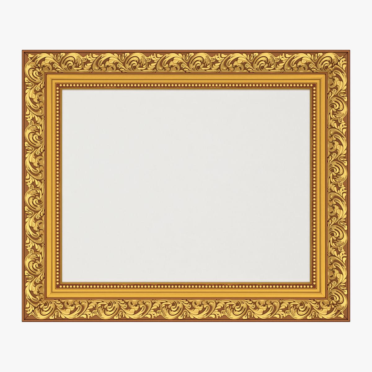 Frame picture gold v7