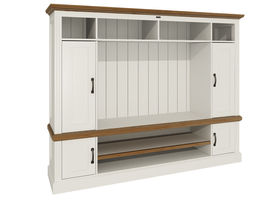 Cabinet white 3D