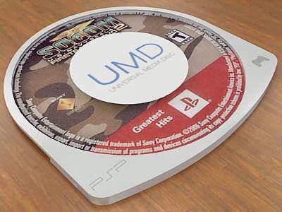 universal media disc 3d model max obj mtl 3ds stl wrl wrz 1