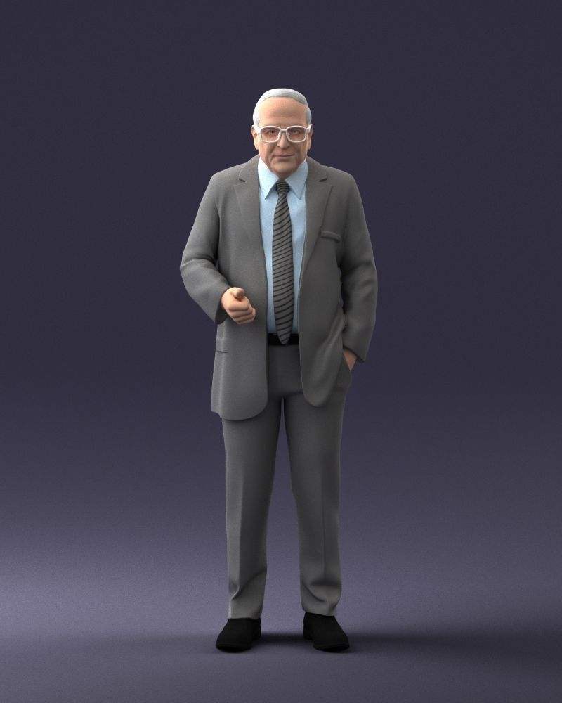 Old man 0617 3D Print Ready