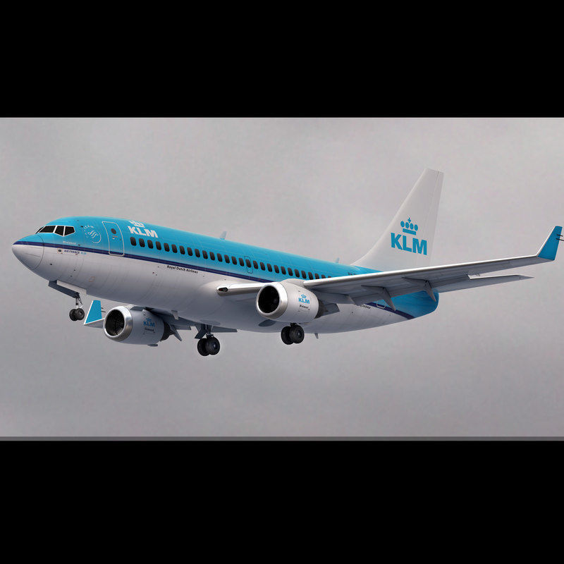 Boeing 737 KLM Airlines