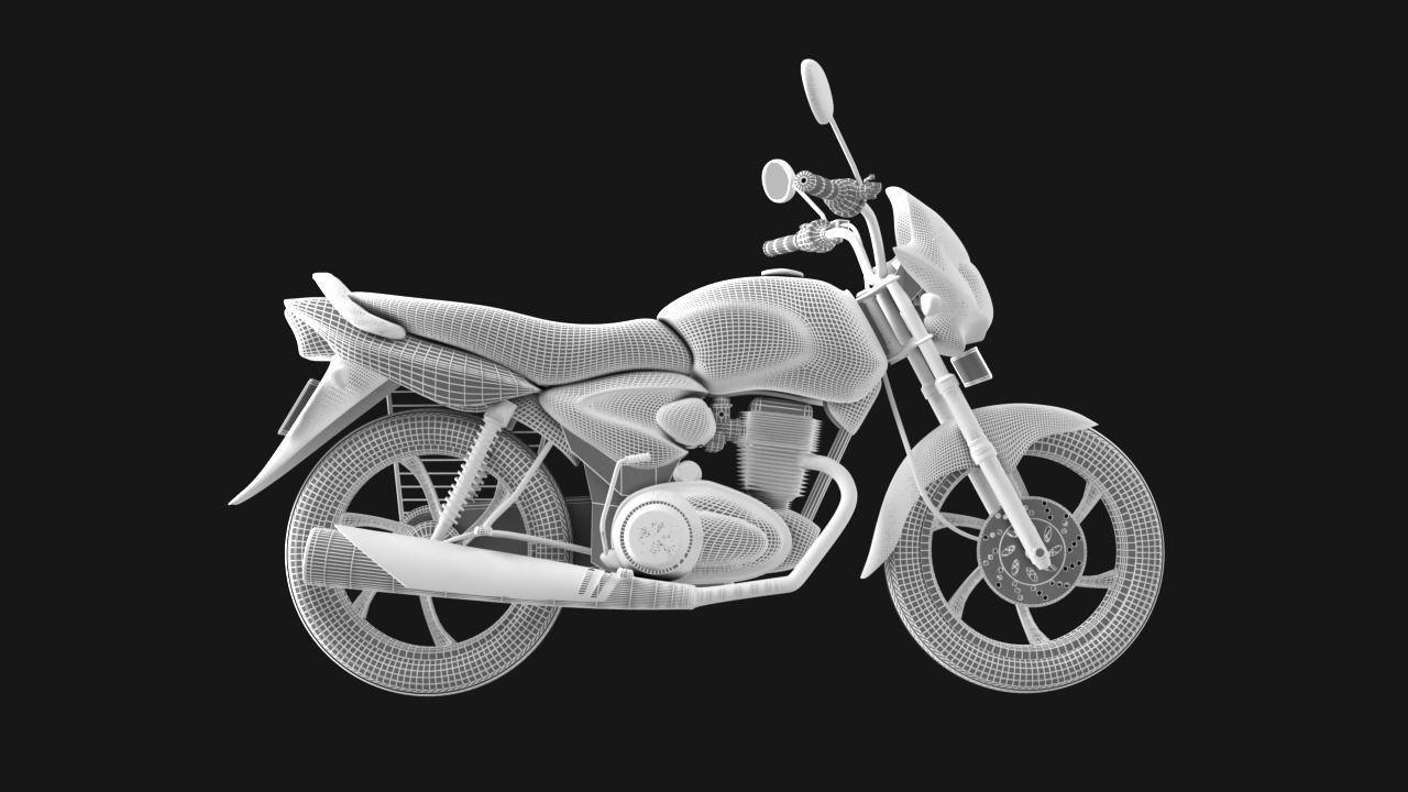 Motorcycle CB Shine