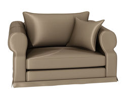 3d one person sofa 239
