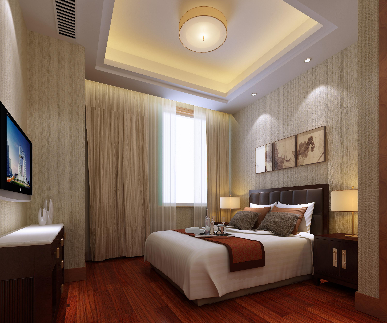 luxury bedroom 3d model max 1 ...