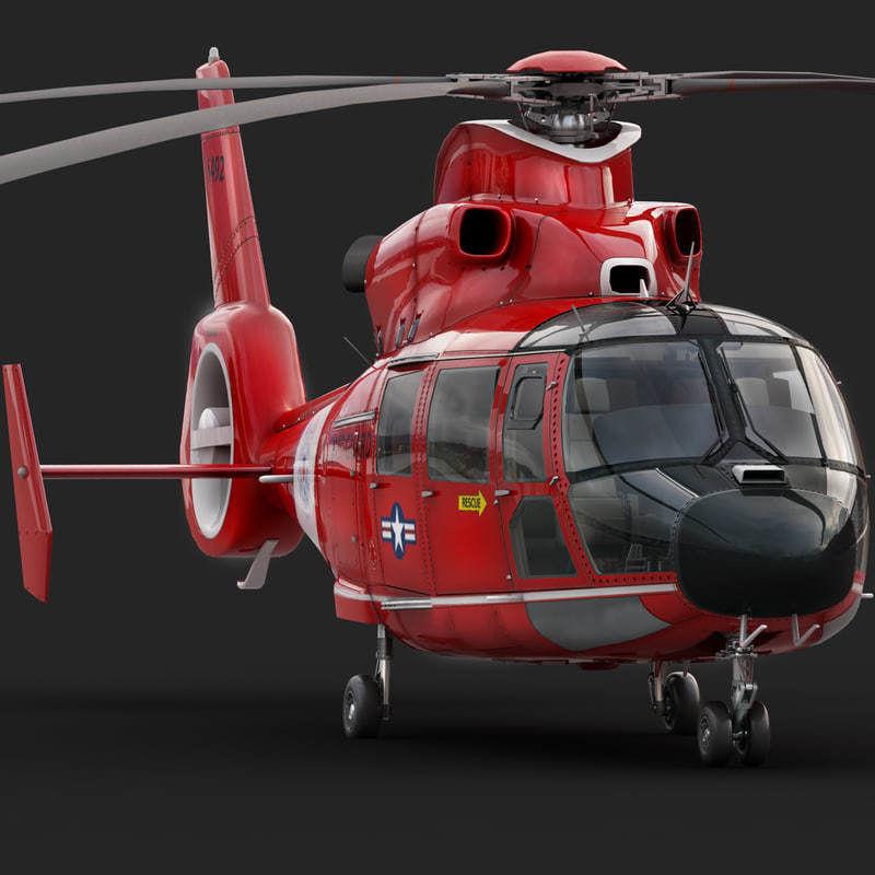 Eurocopter AS 365 Dauphin US Coast Guard