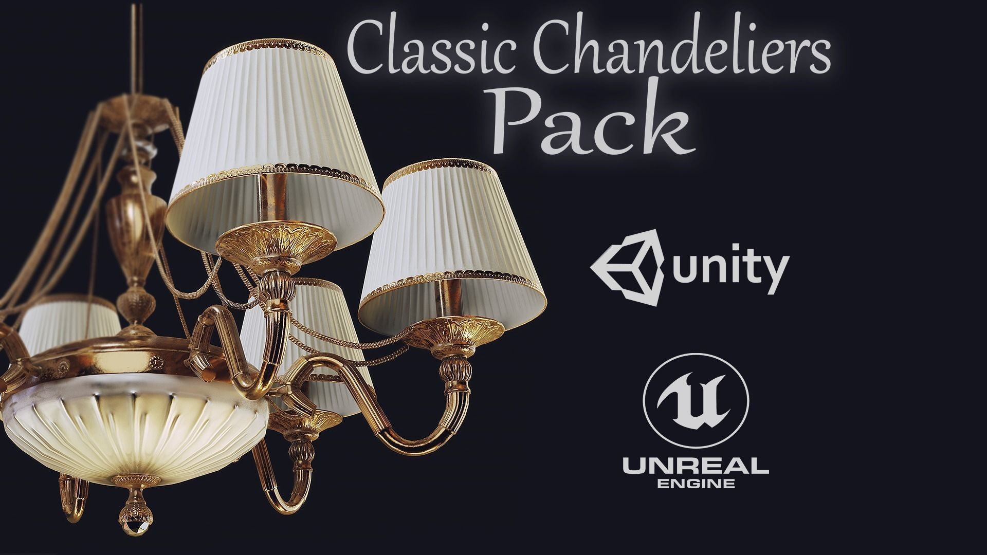 HQ Classic Chandeliers Pack