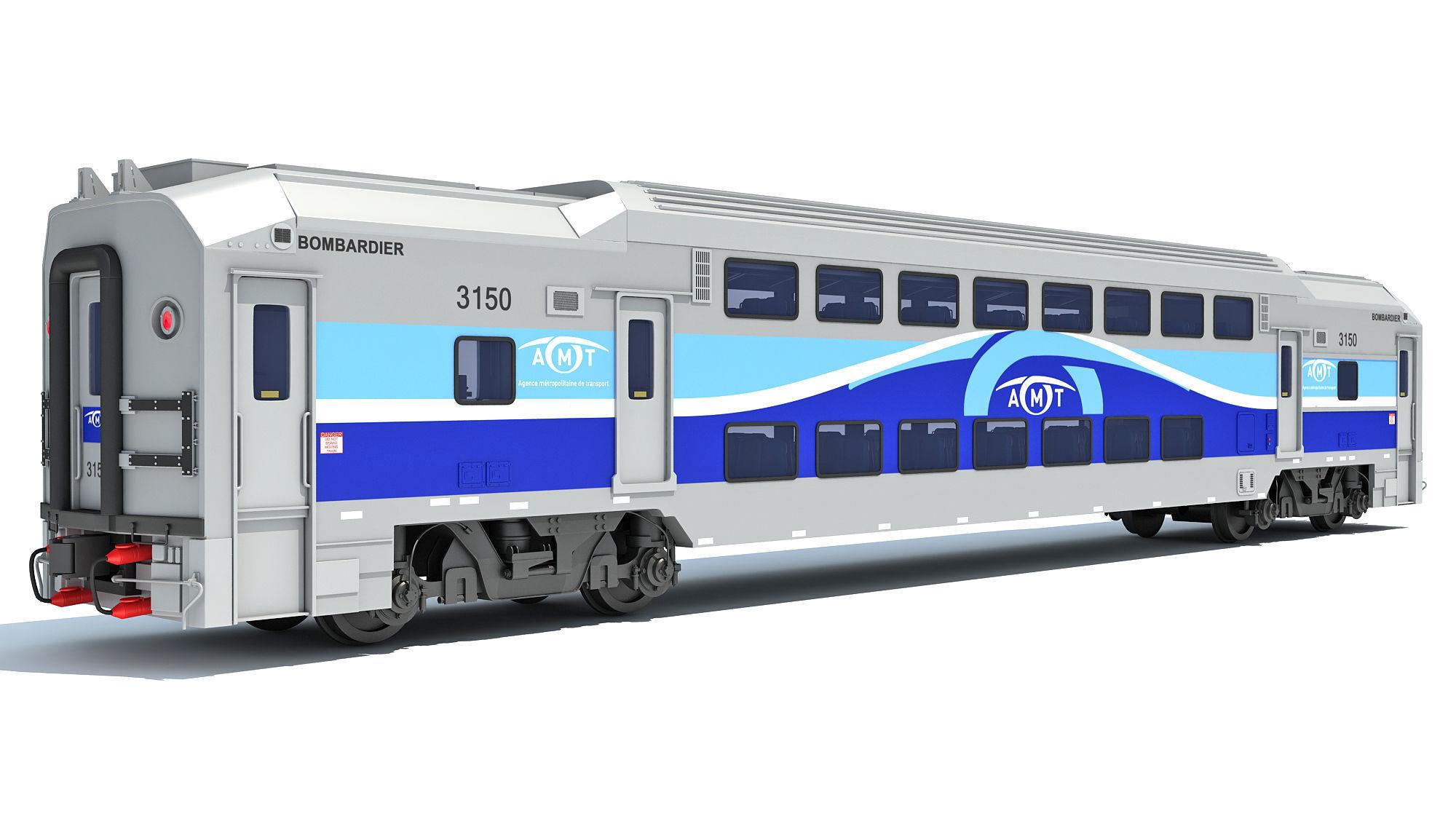 Exo Train Passenger Car