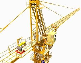 3D asset construction crane