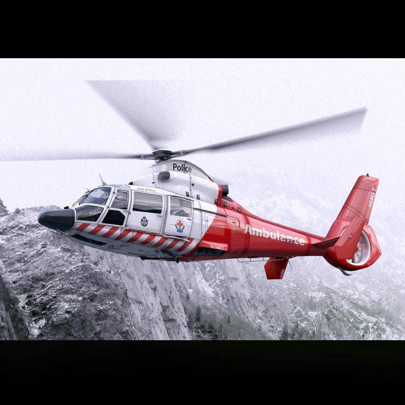Eurocopter AS-365 Air Ambulace