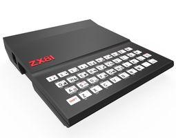 Spectrum zx81 3D model