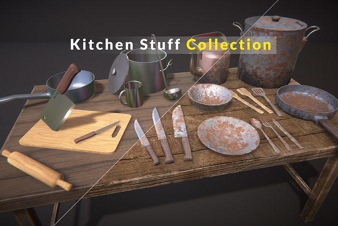 Kitchen Stuff Collection PBR