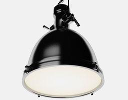Industrial 35 ceiling lamp 3D model