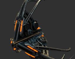 Alien Tri-Fighter 3D model