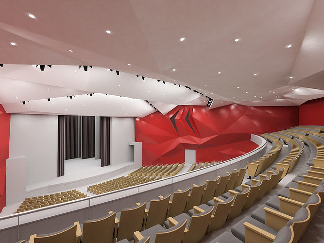 concert hall interior 01 3d model max obj mtl 3ds fbx 1