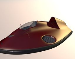 3d model car hovercraft