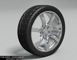 Tire Toyo Ecsta 3D Model