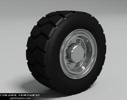 3d tire rim generic heavy vehicle
