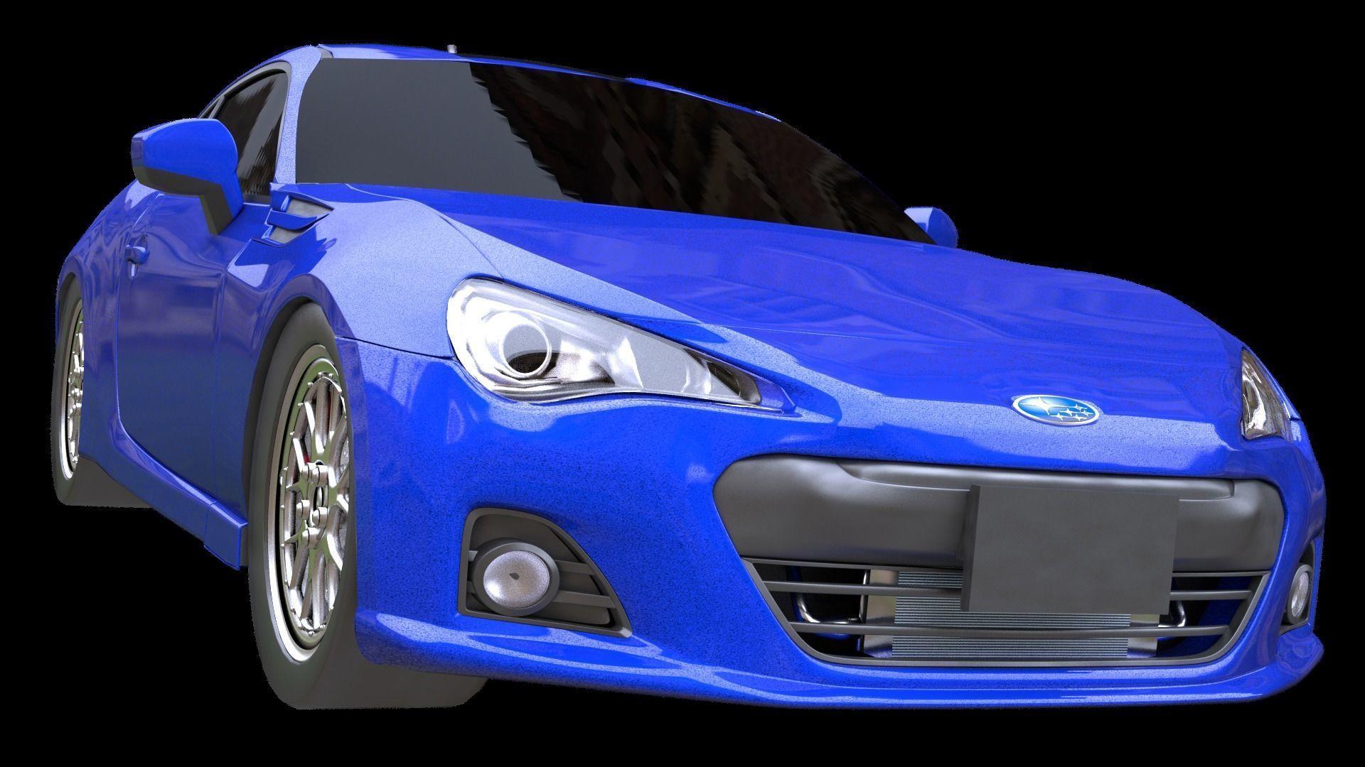 Subaru BRZ or Toyota Ae86 or Scion FRS japan 3D model