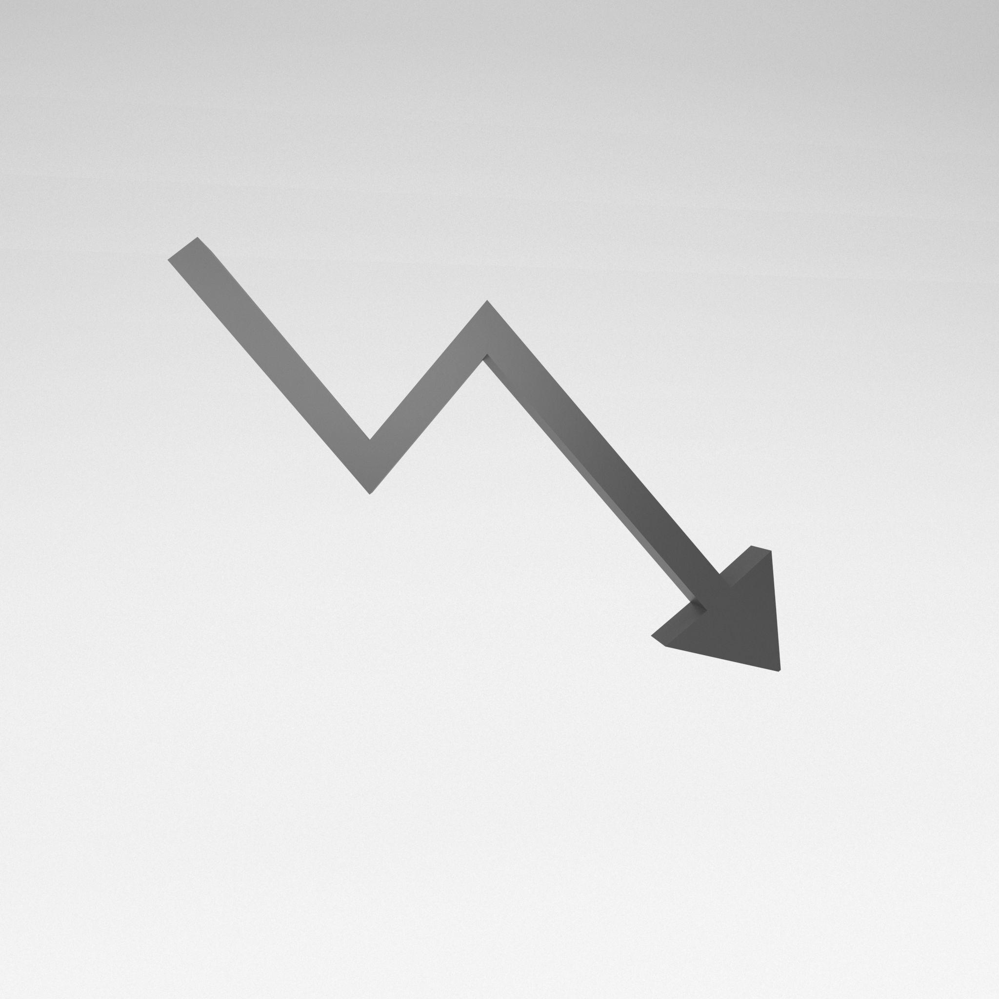Stock Down Symbol v1 002