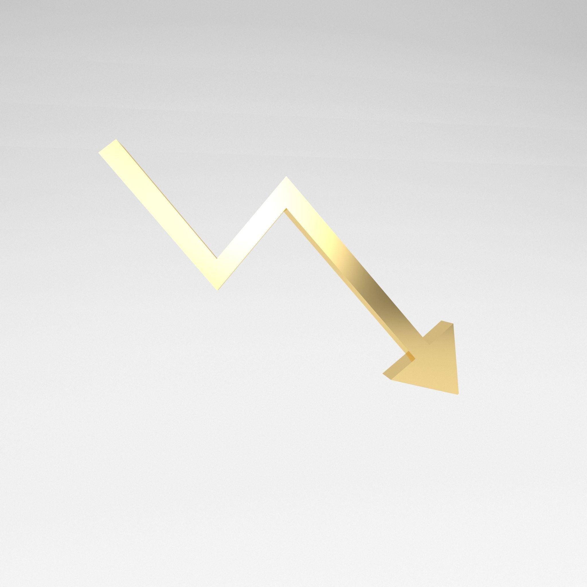 Stock Down Symbol v1 003