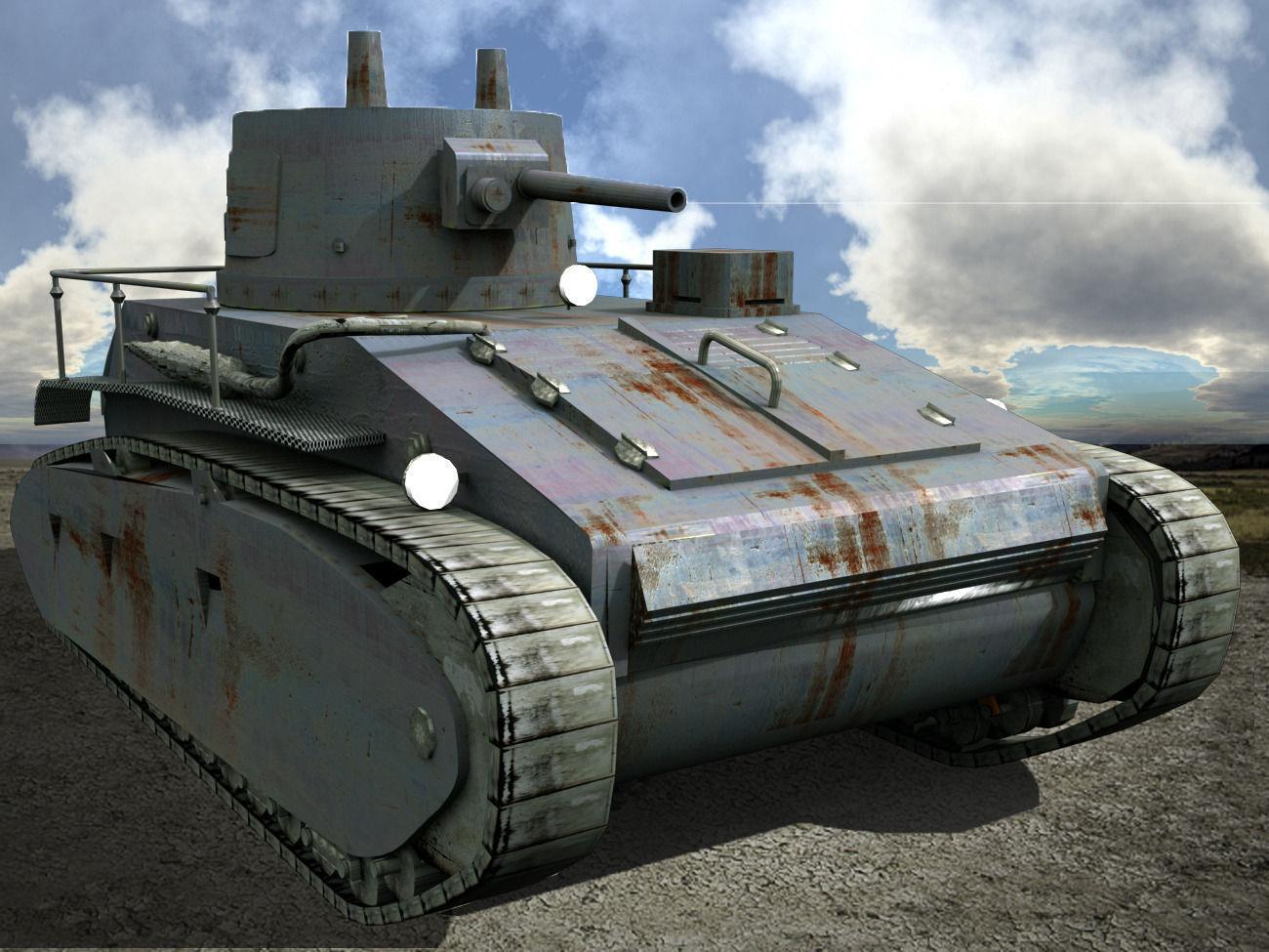 Leichttracker German Tank WW II