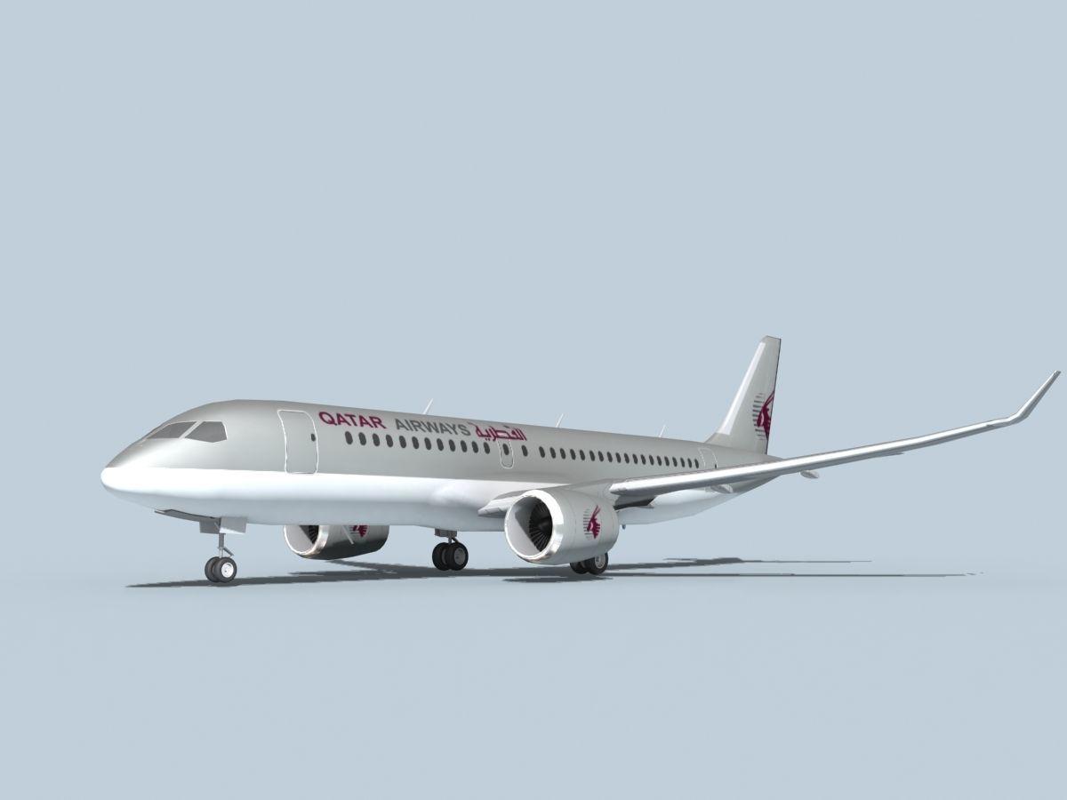 Bombardier CS100 Qatar