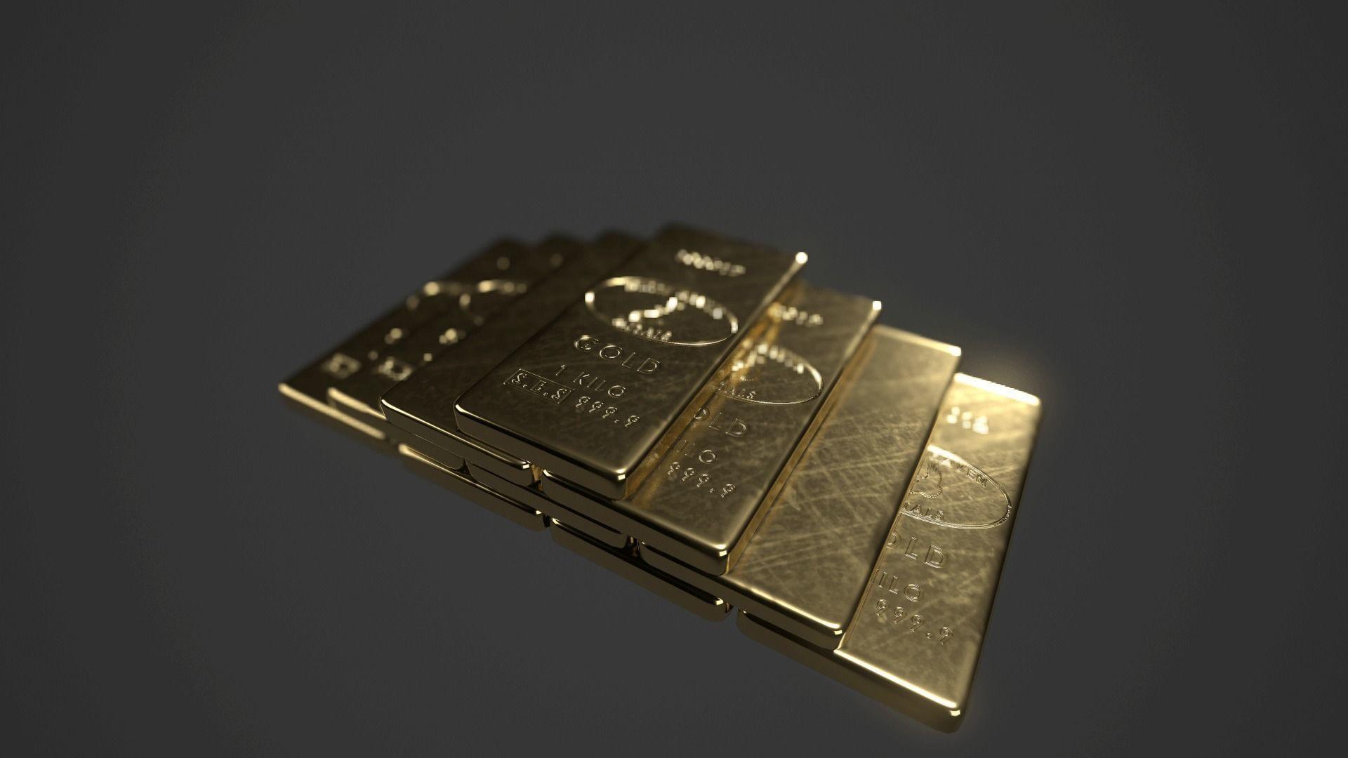 Precious Metal Ingot Set