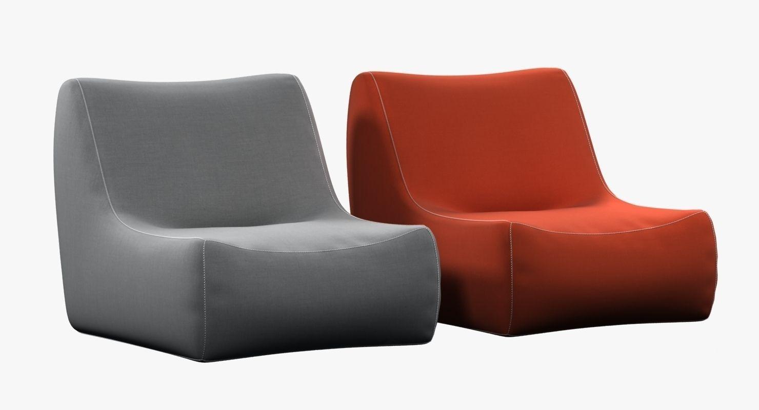 Room And Board   Maya Swivel Chair 3d Model Max Obj 3ds Fbx Mtl 1 ...