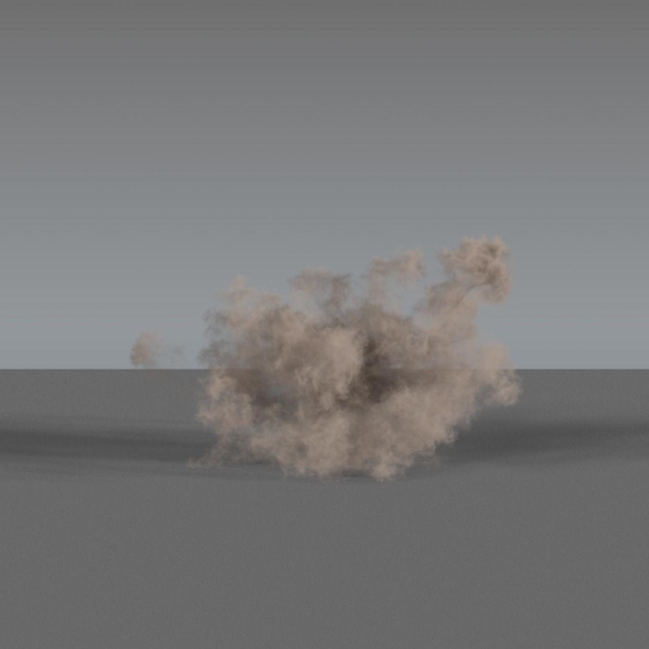 Dust Explosion 03 - VDB