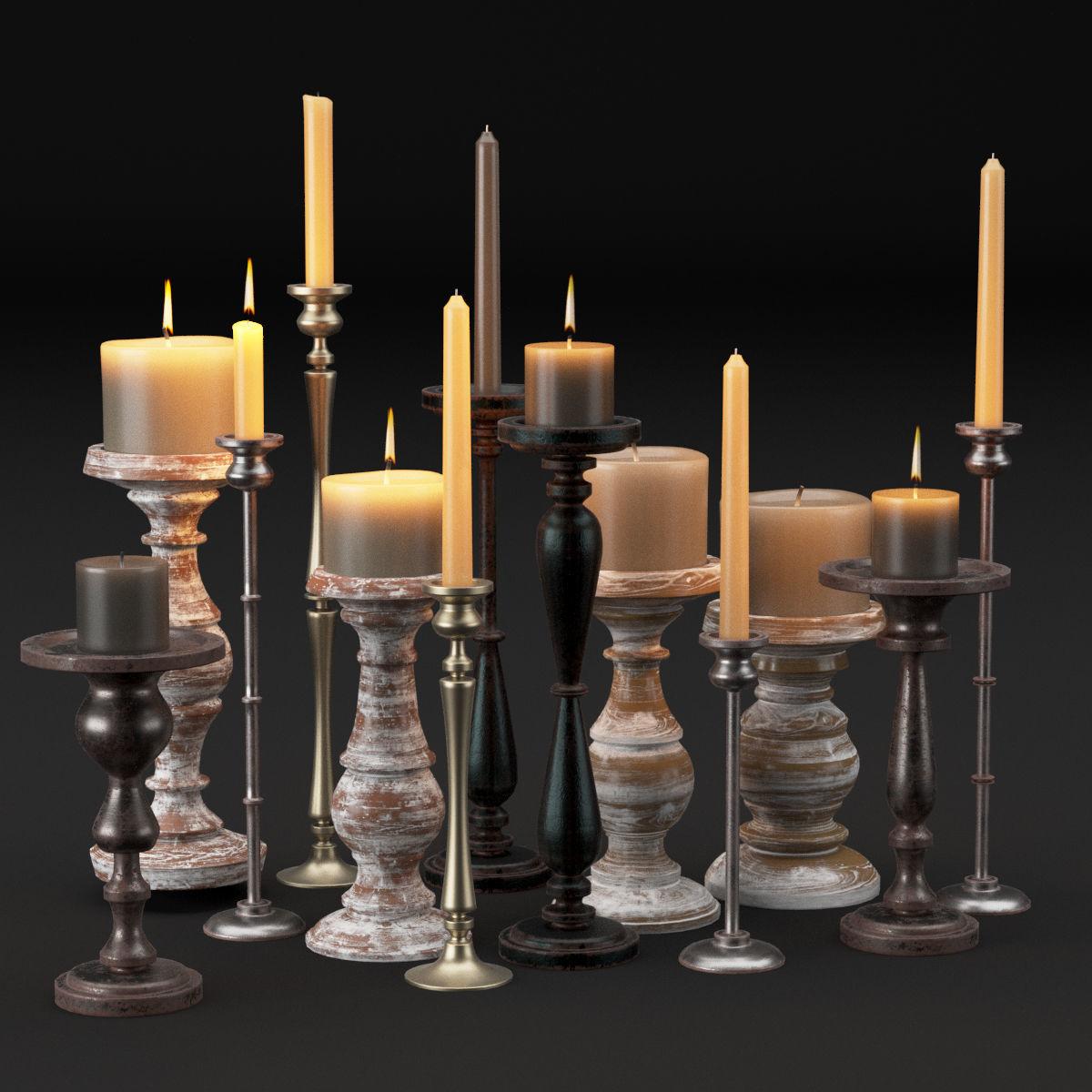 candlestick full set