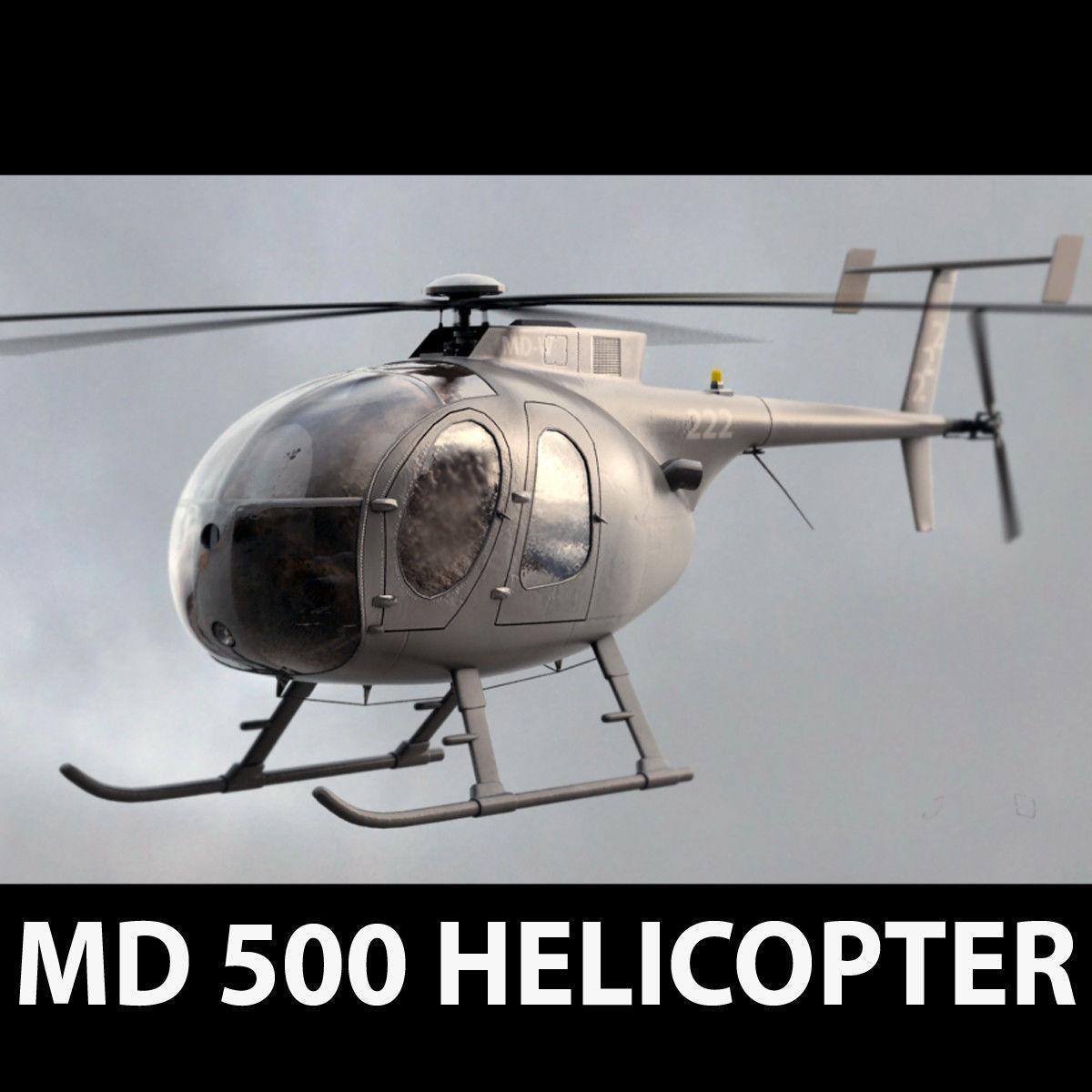 MD 500 Dark Gray