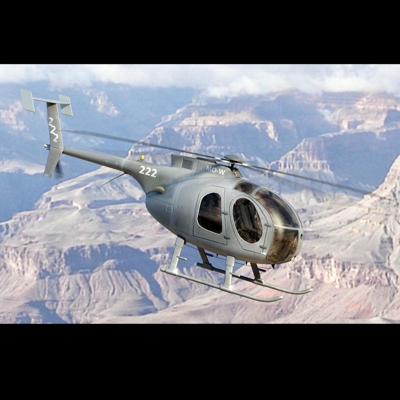 MD 500 Gray